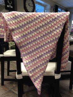 Baby blanket in merino wool