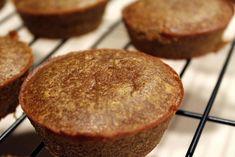 Paleo Pumpkin Pucks, a grain-free, dairy-free pumpkin pie muffin Pumpkin Pie Muffins, Dairy Free Pumpkin Pie, Pumpkin Recipes, Pumpkin Pumpkin, Pumpkin Cupcakes, Healthy Pumpkin, Pumpkin Puree, Paleo Sweets, Paleo Dessert