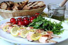 Grilované špízy z norského lososa | Cooking with Šůša