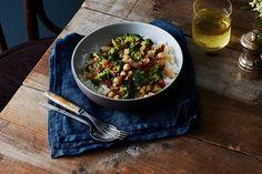 Coconut Braised Chickpeas and Broccoli  recipe on Food52