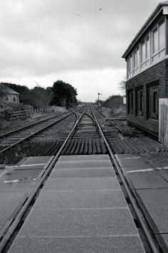 Train tracks at Silecroft