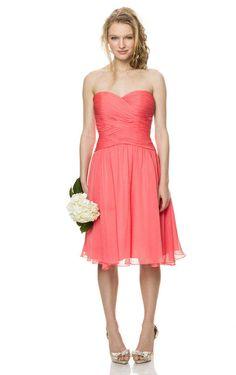A-line Sweetheart Beautiful Natural Waist Bridesmaid Dress