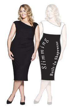 Breda Slimming Dress with SSSlip technology that Smooths, Shapes and Slims. Shop now at patriciaotoole. Classic Outfits, Shapewear, Athletic Tank Tops, Shop Now, Slim, Clothes For Women, Skirts, Shapes, Technology