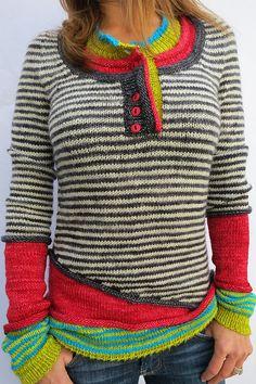 Ravelry: knitcou2ure's Triple Threat sweater