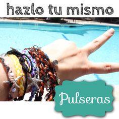 #pulseras hazlo tu mismo!!! Para el y para ella ;)