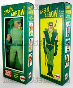 Green Arrow (Mego).  My favorite of all the superhero action figures...