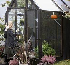 """Hasselfors """"Iver"""" greenhouse"""