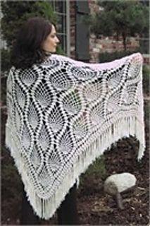 Crocheted Pineapple Shawl, 6.99