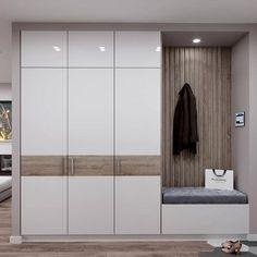 Eat-in kitchen interior - Modern Wardrobe Interior Design, Wardrobe Door Designs, Wardrobe Design Bedroom, Bedroom Bed Design, Bedroom Furniture Design, Wardrobe Doors, Home Room Design, Home Interior Design, House Design