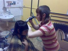 WEBSTA @ i_love_shaved_hair - Go to chelseacut Chica Skinhead, Skinhead Reggae, Skinhead Girl, Cut My Hair, Hair Cuts, Chelsea Cut, Shaved Head Women, Bald Girl, Bald Women