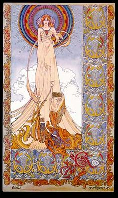 Eriu    Celtic (Irish)Another of the three Goddesses after which Ireland was named. Along with Banb and Fotia or Fodla.