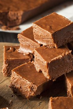 Vegan Chocolate Fudge Recipe - a melt-in-your-mouth treat from AllergyMoms