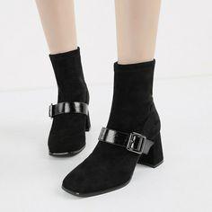 stivali stivaletti scarpe  nero strass tacco 10 cm pelle sintetica comodi 9147