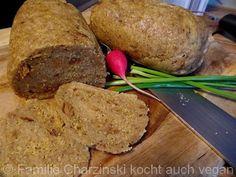 Maisgrieß Zwiebel Seitan - Familie Charzinski kocht auch vegan