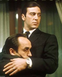 John Cazale and Al Pacino in 'The Godfather Part II'