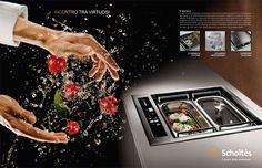מערכת בישול מהפכנית מבית שולטס MultiPlo SCHOLTES מהעתיד ישירות למטבח של היום. מערכת בישול חדשנית המשלבת יכולות של תנור וכיריים במכשיר אחד. מנות מאודות, קלוי, מטוגן בשמן עמוק, מבושל או אפילו בסגנון טפניאקי. זוכה פרס העיצוב מטעם ה-Chicago Athenaeum: Museum of Architecture and Design
