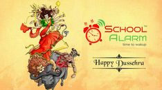Happy Dussehra It's time to celebrate the victory of the good over the evil. Time To Celebrate, School Fun, Software, Management, Happy, Poster, Ser Feliz, Billboard, Being Happy
