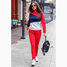 Women S Fashion Queen Street Mall Code: 6460285828 Tween Fashion, Sport Fashion, Girl Fashion, Fashion Dresses, Fashion Looks, Style Fashion, Sporty Outfits, Girl Outfits, Girls Tracksuit