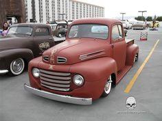 Info/Pics 1948 to 1952 Ford Trucks 1948 Ford Truck, Old Ford Trucks, Vintage Pickup Trucks, Classic Pickup Trucks, Ford F1, Hot Rod Pickup, Old Fords, Custom Trucks, Cool Trucks