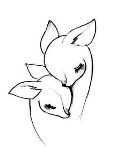 Mother & daughter tattoo idea. This would be perfect for