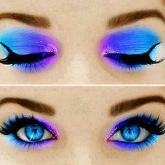 neon makeup   Neon makeup