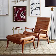 Marvelous Hans Leather Armchair