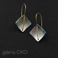 Kolczyki z tytanu Biżuteria Kolczyki galeria OKO
