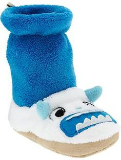 Yeti Critter Slippers for Baby | Old Navy