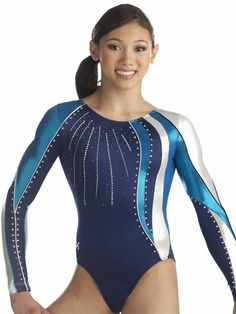 Waterfall Gymnastics Leotard from GK Elite