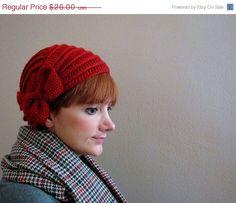 crochet bow hat from KokoshKnitting on Etsy