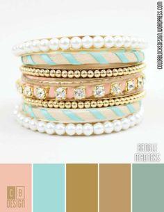Bangle Madness | Color Blocks Design 7.18.12
