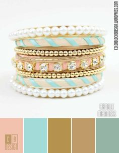 Bangle Madness | Color Blocks Design 7.18.12