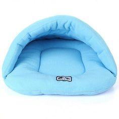 Caixa de cachorro de estimação Gato Gatinho Caverna Barraca Casa De Inverno Quente Cama Saco De Dormir Pad Mat