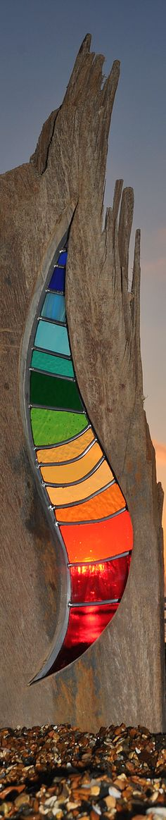 Louise V Durham / Stained Glass Sculptures Back Catalogue