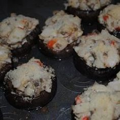 Crab Stuffed Mushrooms II - Allrecipes.com