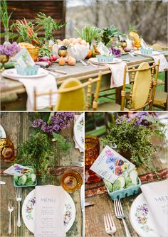 farm table place setting ideas #peach #georgia #meal #delivery #appetizer #entree #dessert #fortwo #$20 #weekly #cook #kitchen #dinner #fresh #ingredients #recipe #chef www.PeachDish.com