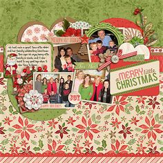 Half Pack 73 by Cindy Schneider Christmas Spirit: Merry & Bright by Zoe Pearn Layered Cards: Christmas 3 by Cindy Schneider
