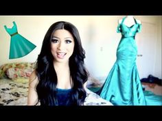 ALL ABOUT MY EMERALD EVENING GOWN