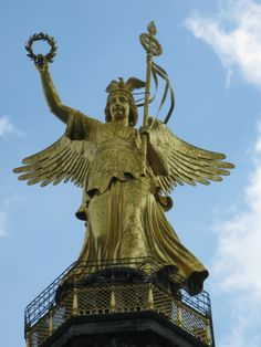 Siegessäule Statue Of Liberty, Berlin, Germany, Travel, Statue Of Liberty Facts, Liberty Statue, Deutsch, Viajes, Traveling