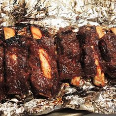 Dry Rubbed Fall-Off-the-Bone Beef Ribs in the Oven with Beef Ribs, Onion Powder, Garlic Powder, Brow Beef Ribs Recipe Oven, Beef Ribs Marinade, Oven Baked Beef Ribs, Grilled Beef Ribs, Bbq Beef Ribs, Ribs On Grill, Roast Brisket, Beef Tenderloin, Primitive Kitchen