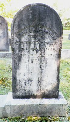 Granite in My Blood: Tombstone Tuesday: Hannah E. LAMB #genealogy
