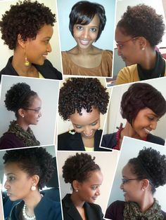 9 pics: Short natural hair is versatile and gorgeous.