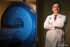 SIU School of Medicine's Dr. Alanee uses MRI for prostate cancer care.