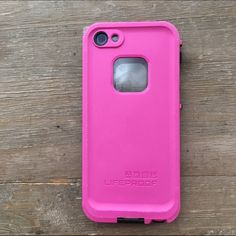 iPhone 5 LifeProof case Pink and black iPhone 5 phone case. (Will not fit iPhone 5c model) LifeProof Accessories Phone Cases