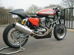 "Racing Cafè: Harley XR 1200 ""Black Angel"" by Shaw Speed Custom"