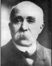 Georges Clemenceau, the leader of France. France was a part of the Triple Entente. History Teachers, World History, World War One, First World, Prime Minister Of France, Triple Entente, Georges Clemenceau, Treaty Of Versailles, Fourth World