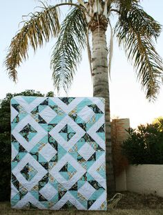 Diamond Treasures Quilt Finishing