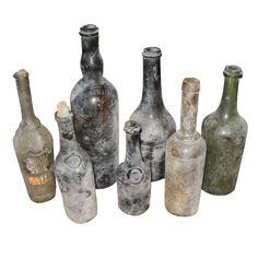 Ma(i)sonry Maisonry - Vintage Century Wine Bottles - Antique Glass Bottles, Vintage Bottles, Bottles And Jars, Beer Bottles, Vintage Perfume, Perfume Bottles, Vases, Lighted Wine Bottles, Altered Bottles