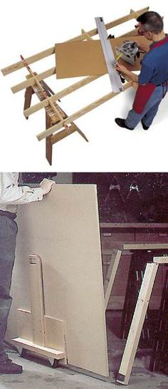 Framing Clamp - Homemade four-corner framing clamp constructed from ...