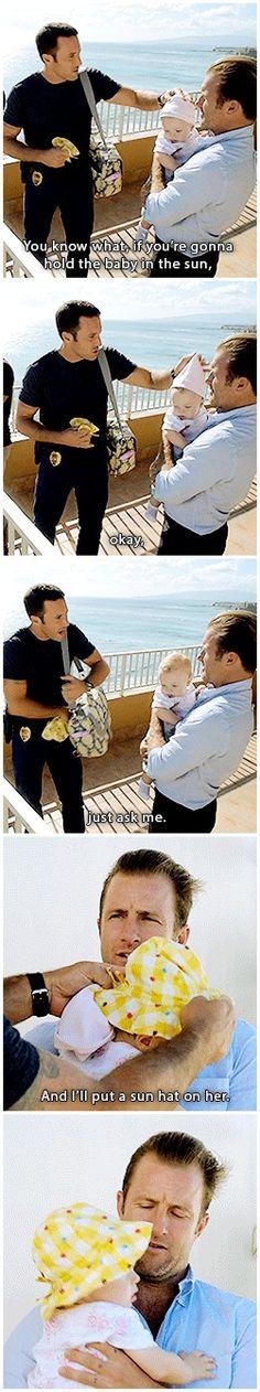 Lieutenant Commander Certified Babysitter Steven J. McGarrett